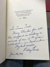 A Glad Awakening, Betty Ford, SIGNED, HCDJ, First Lady FROM HER PERSONAL LIBRARY