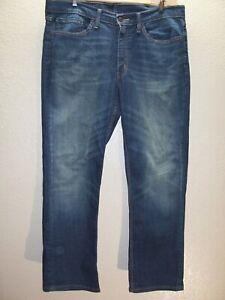 """Levi's 514 Hommes 36 """" W 30 """" L 2% Élasthanne Slim-Droit Jean / Pantalon"""
