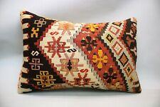 Kilim Sofa Pillow, 16x24 inc, Decorative Throw Pillow, Handmade Vintage Pillow
