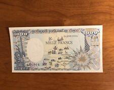 Republic Congo 1000 Francs 1991> UNC