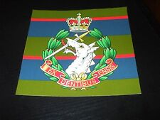 THE ROYAL ARMY DENTAL CORPS CREST STICKER 5X5 INCH
