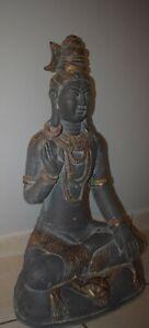 Großer Thailändischer Buddha Gartenfigur Feng Shui Skulptur Dekoration