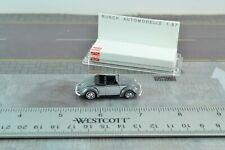 Busch 42705 Volkswagen Beetle Webmuller Grey HO Scale 1:87