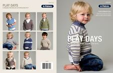 Patons Pattern Book 8016 Play Days 6 Designs to Knit for Boys in Cotton Blend