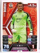 Match Attax 2013/14 Premier League - #235 Artur Boruc - Southampton
