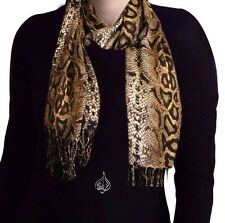 PYTHON LONG NECK SCARF HIJAB 70 X 22"