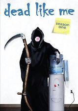 Dead Like Me-The Complete 1st Season (DVD, 4-Disc Set) Factory Sealed FREE Ship