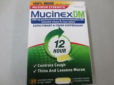 MUCINEX DM ( 28 COUNT ) EXTENDED BI-LAYER TABLETS ~EXP 11/2019 ~FREE US SHIP!
