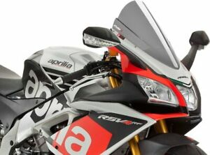 2016-2019 Aprilia RSV4 RF Puig Racing Windscreen, Light Smoke  7614H