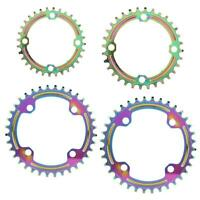 1X 104BCD Mountain Bike Positive&Negative Tooth Disc Chain Wheel Chainring Color