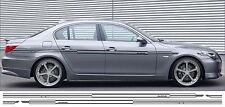 BMW e60 e61 Alpina Stile strisce adesivi righe laterali b5 520 523 530 535 540
