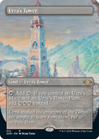 Urza's Tower - Foil - Borderless x1 Magic the Gathering 1x Double Masters mtg ca