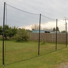 Used 50' x 25' Poultry Netting Quail Net Chicken Nets Multi-nylon Game Bird 2