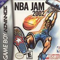 NBA Jam 2002 - Game Boy Advance GBA Game