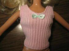 Genuine Barbie Doll Pink Top