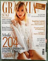 423 FASHION MAGAZINE GRAZIA 12 2018 SUKI WATERHOUSE JAMES FRANCO SOPHIA LOREN
