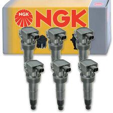 6 pcs NGK 48935 Ignition Coil for U5087 GN10560 E1046 48935 UF546 8415169 wu