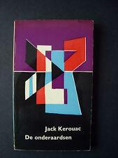 "Jack Kerouac ""The Subterraneans""  ""De Onderaardsen""  Dutch language edition 1959"