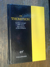 Jim Thompson le lien conjugal 1275 âmes Des cliques et des cloaques