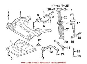 For BMW Genuine Suspension Control Arm Front Upper 31126775967