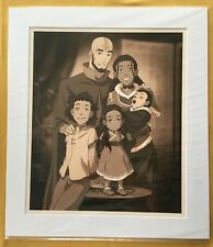 The Legend Of Korra Family Portrait SDCC Comic Con 136 Of 300 Nickelodeon print