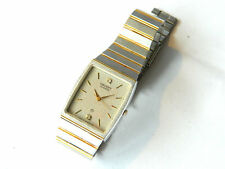 ORIENT LUXURY WRIST WATCH Men's/Women's, Quartz w/ Crystals, Japan ca.1980