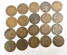 Twenty Mixed King George V AUSTRALIA PENNY Coin Collection Lot (#L9389)