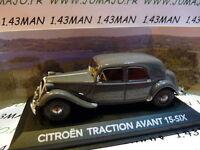 voiture 1/43 atlas voiture de mon père : CITROËN Traction avant 15-six gris
