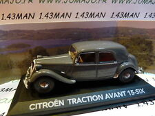 Citroen Traction avant 15 Six 1/43 Gris - Atlas