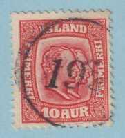 ICELAND NUMERAL CANCELLATION 195 þykkvibaer