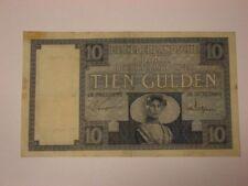 TIEN GULDEN 10 GULDEN JAN 1930 NEDERLANDSCHE BANK Banknote Niederlande