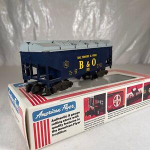 American Flyer B&O Covered Hopper # 4-9201 Baltimore & Ohio Rail Car In Box