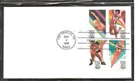 US SC # 2085a Olympics 1984 Los angeles FDC.  No cachet