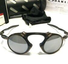 NEW OAKLEY MADMAN SUNGLASSES Pewter Frames w/ Black Iridium Polarized Lenses