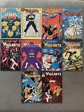 New Teen Titans Annual #2~Vigilante #1 Lot Of 10. 1st App Vigilante