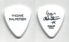Yngwie Malmsteen Signature White Guitar Pick - 2015 Tour