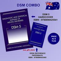 (DSM-5) (Hardcover)+ Desk Reference Combo Set