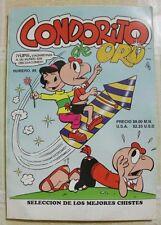 CONDORITO DE ORO NUMERO 88, 2003 COMIC MEXICO, SIMILAR A MEMIN PINGUIN