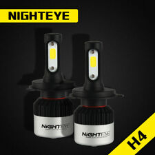 Nighteye H4 HB2 LED Headlight Fog Light Bulbs - 72W 9000LM 6500K - Free Shipping