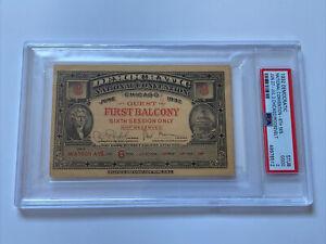 1932 Democratic National Convention Ticket FDR President Franklin Roosevelt PSA