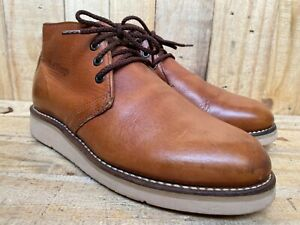 Red Wing Traction Tred Chukka Boot Soft Toe Brown 595 (Mens 6.5)   (Women 7.5)