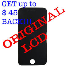 Genuine Apple LCD Touchscreen Display Digitizer Replacement for iPhone 6 Black