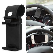 Universal Car Steering Wheel Mount Bracket Holder Stand Clips For Phone iphone/X