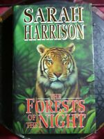 """SIGNED Sarah Harrison """"The Forests Of The Night"""" 1991 HB Book Macdonald & Co"""