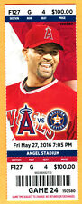 MINT! ANGELS ALBERT PUJOLS HR #570 FULL SEASON TICKET-5/27/16-ASTROS