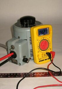 Powerstat 116 Continuously Variable Transformer 0-140 VAC; 8 Amp (a)