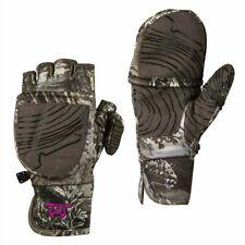 Realtree Max 1 XT Ladies Pop-Top Gloves Mittens - L / XL