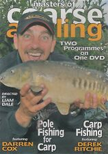 MASTERS OF COARSE ANGLING.POLE FISHING FOR CARP -Carp Fishing DVD