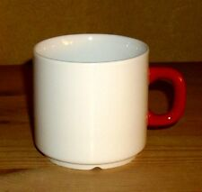 Friesland, Melitta,Germany 1 Kaffeetasse, Weiß mit rotem Griff