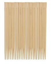 2 X Chef Aid Bamboo Chopsticks 10 Pair 1436rm